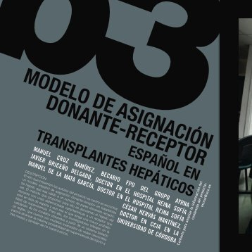 MODELO DE ASIgNACIÓN DONANTE-RECEPTOR - Helvia ...