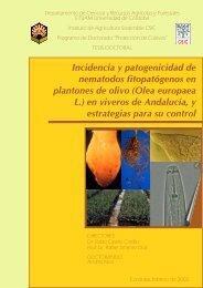 Incidencia y patogenicidad de nematodos fitopatógenos - Helvia ...