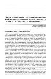 CAUSALIDAD EN MINAS Y MASONERIA DE BELMEZ A ... - Helvia