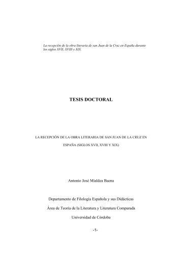 TESIS DOCTORAL - Helvia - Universidad de Córdoba