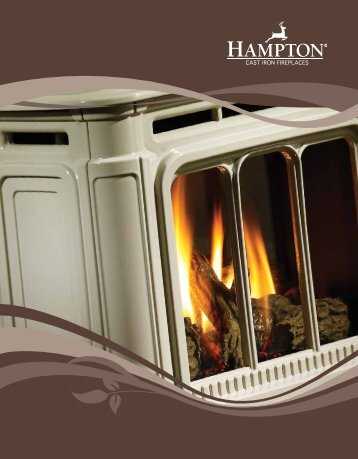 Hampton Brochure - Regency Fireplace Products