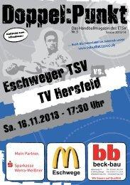 TV Hersfeld - Eschweger TSV