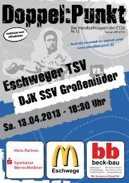 DJK SSV Großenlüder - Eschweger TSV