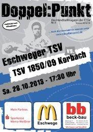 TSV 1850/09 Korbach - Eschweger TSV