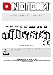VLOŽEK Crystal 50 - 50v - 50v p30 - 70 - 80 - 100 - Nordica