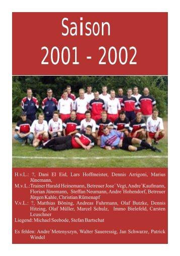 Saison 2001/2002 - TSV Landolfshausen