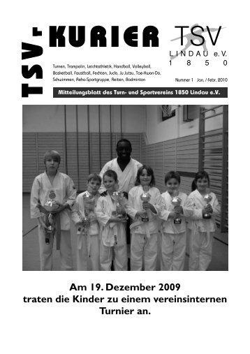 Kurier 01/2010 - TSV Lindau 1850 eV