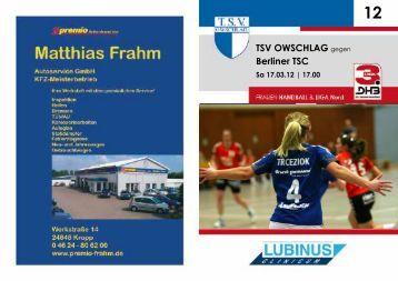 Heft 12 - TSV Owschlag
