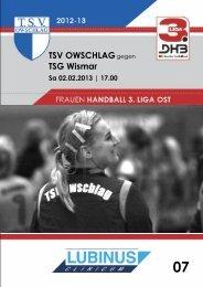 02.02.13 Heft 7 - TSV Owschlag