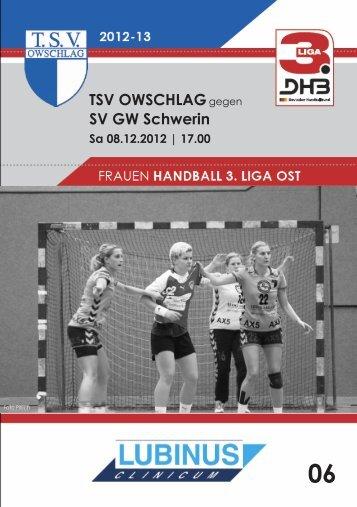 08.12.12 Heft 6 - TSV Owschlag