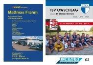 Werder Bremen - TSV Owschlag
