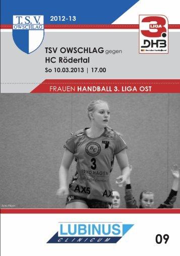 10.03.13 Heft 9 - TSV Owschlag