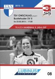 23.02.13 Heft 8 - TSV Owschlag