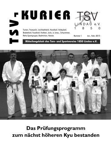 Kurier 01/2013 - TSV Lindau 1850 eV