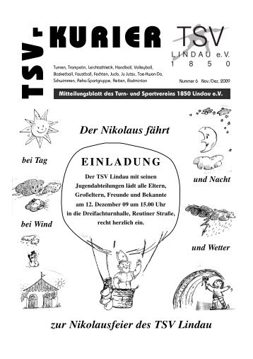 Kurier 06/2009 - TSV Lindau 1850 eV