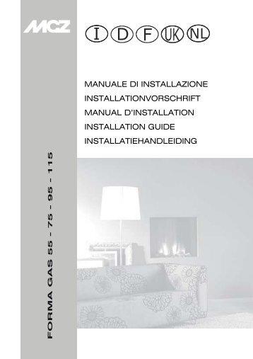Manuale di Uso ed Installazione - MCZ