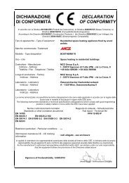 Certificato CE - MCZ