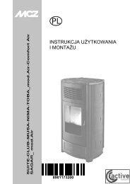 Instrukcje obsługi i montażu - MCZ