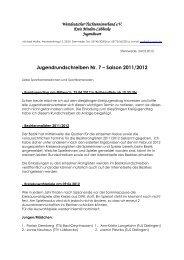 Jugend-Rundschreiben Nr. 7 der Saison 2011/2012 - Kreis Minden ...