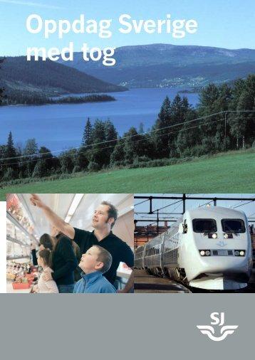 Oppdag Sverige med tog - Sj