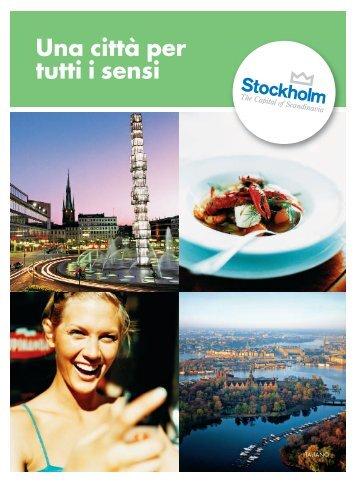 Una città per tutti i sensi - download.swedeninfo.se