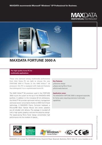 MAXDATA FORTUNE 3000 A
