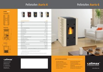 Pelletofen Auris 6 Pelletofen Auris 6 - Krauss.AG