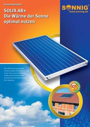 SOLIX AR+ Die Wärme der Sonne optimal nutzen - NOTHAFT ...
