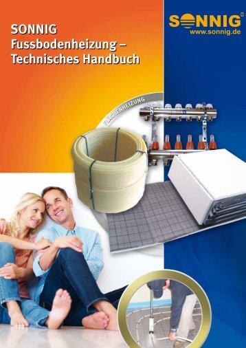 SONNIG Fussbodenheizung - NOTHAFT Heiztechnik