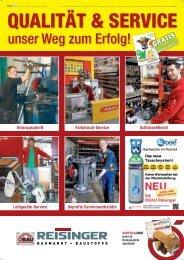 Qualität & Service - Reisinger