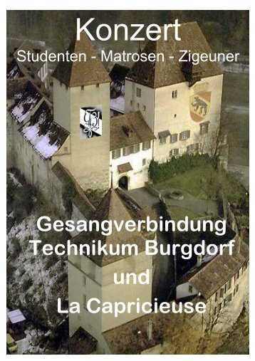 Gesangverbindung Technikum Burgdorf und La ... - TTB Burgdorf