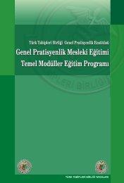 gpe genel pratisyenlik mesleki eğitimi temel modüller eğitim programı