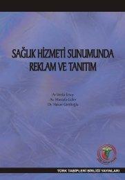 Sağlık hizmeti sunumunda reklam ve tanıtım - Türk Tabipleri Birliği