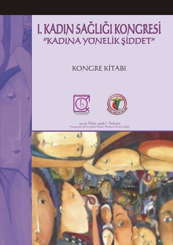 """ı. kadın sağlığı kongresi """"kongre kitabı"""" - Türk Tabipleri Birliği"""