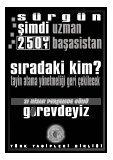Eğitim Hastaneleri, Hekimler, Atama ve Nakilleri ile Yargı Kararları - Page 2