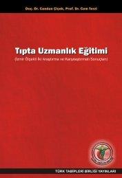 Tıpta Uzmanlık Eğitimi - Türk Tabipleri Birliği