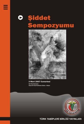 Şiddet Sempozyumu - Türk Tabipleri Birliği