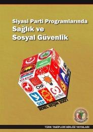siyasi partiler.cdr - Türk Tabipleri Birliği