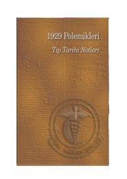 1929 polemikleri 'tıp tarihi notları' - Türk Tabipleri Birliği