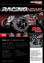 Virus 3.0 | 1:8 Nitro Buggy 2 4ghz WATERPROOF* - Ansmann