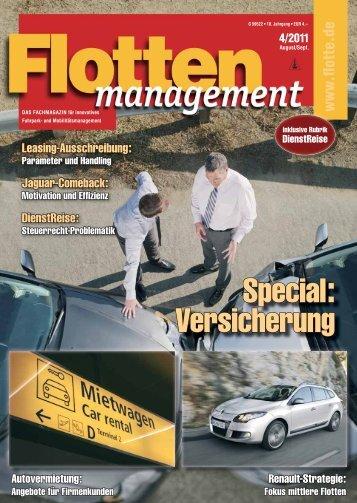 Komplettes Magazin als E-Paper - Flotte.de