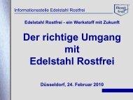 Edelstahl Rostfrei - TTH-NRW