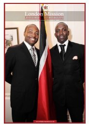 Oct - Nov 2009 - High Commission for the Republic of Trinidad ...