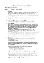Protokoll der Kreisversammlung vom 24.05.2011 Protokollführer ...
