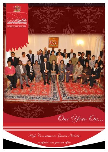 Oct - Dec 2011 - High Commission for the Republic of Trinidad ...