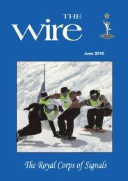 The Wire - June 2010 - British Army