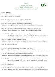 the agenda - TTN Transnational Taxation Network
