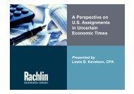 Short-term Assignment - TTN Transnational Taxation Network