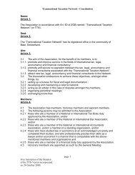 Constitution - TTN Transnational Taxation Network