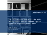 The OECD report on base erosion and profit shifting (BEPS) and EU ...